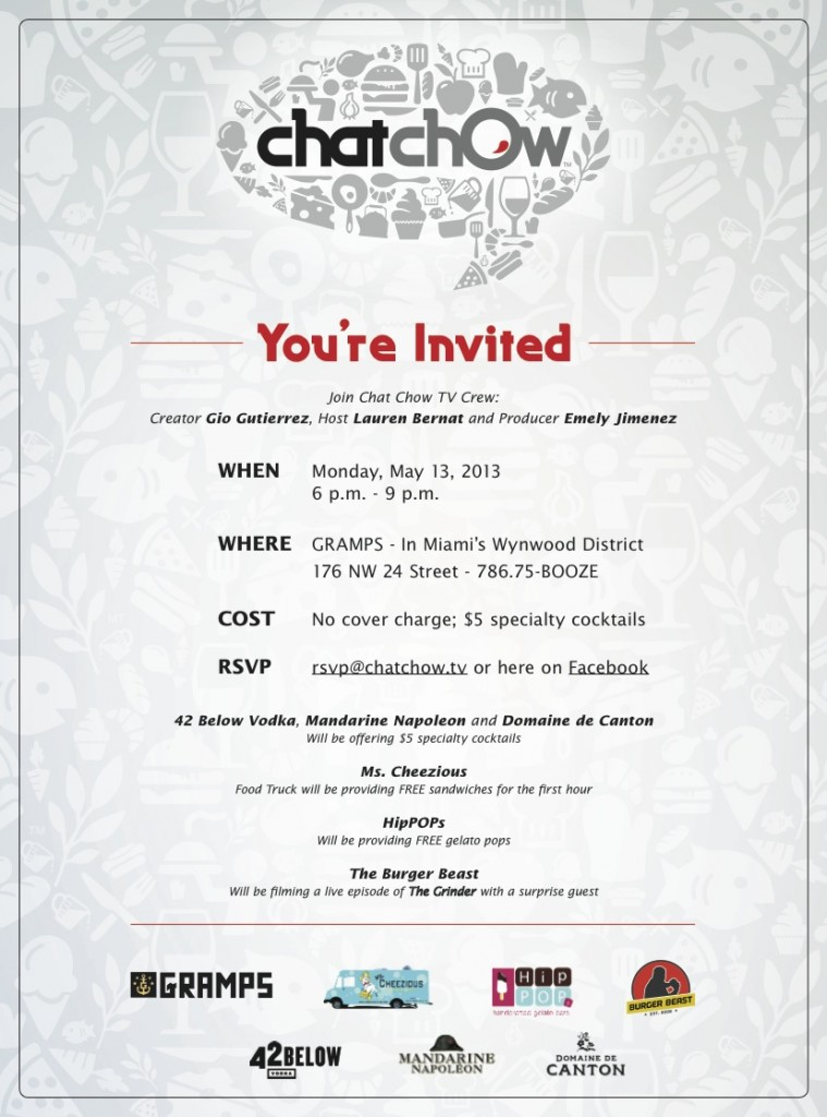 chat chow tv party
