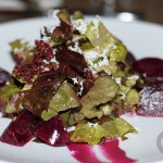 Red Salad – roasted beets, queso fresco, red walnuts, piquillo peppers
