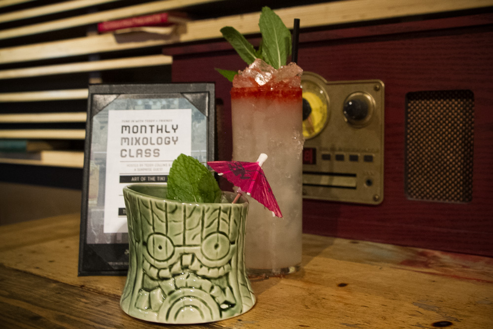 Monthly Mixology Classes at Radio Bar