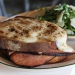 Le Croque. Sourdough w/ Black Forest Ham, Gruyere, Bechamel