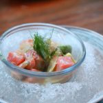 Salmon Ceviche - faroe islands salmon, grapefruit, avocado, fennel